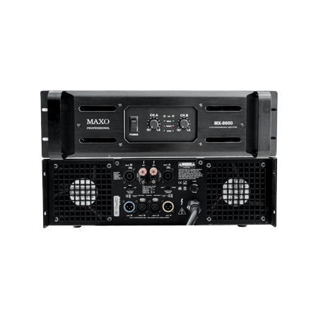 Kết quả hình ảnh cho MX-8600 Power Amplifier MAXO