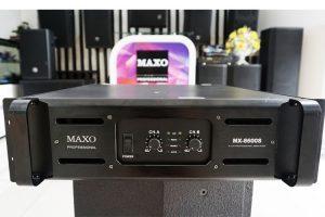 MAIN CÔNG SUẤT 2 KÊNH MAXO MODEL MX-8600S<BR/> SẢN PHẨM ƯU VIỆT CHUYÊN CÔNG TRÌNH
